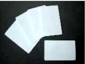 Blanko-Karten, weiß, 0,5mm 50mm Höhe