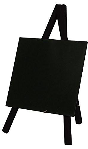 Tisch-Staffelei Buche, schwarz 15x13cm
