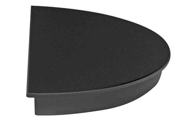 Tortenplatte / Halbkreis 160/320mm