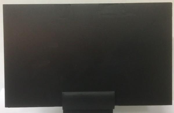 Schreibtafel, Kunststoff, schwarz 138x125mm