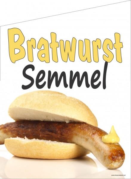 Fahne Bratwurst Semmel