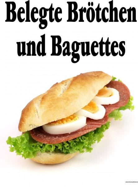 Belegte Baguettes