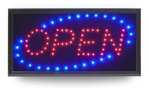 """LED Reklameschild """"OPEN"""""""
