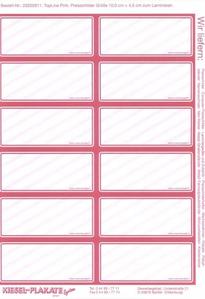 Top-Line, CPS, pink SONDERVERKAUF