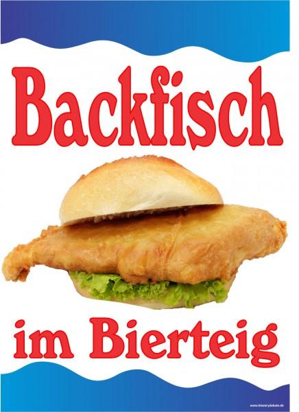 Backfisch im Bierteig