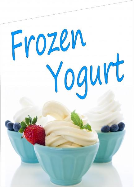 Fahne Frozen Yogurt