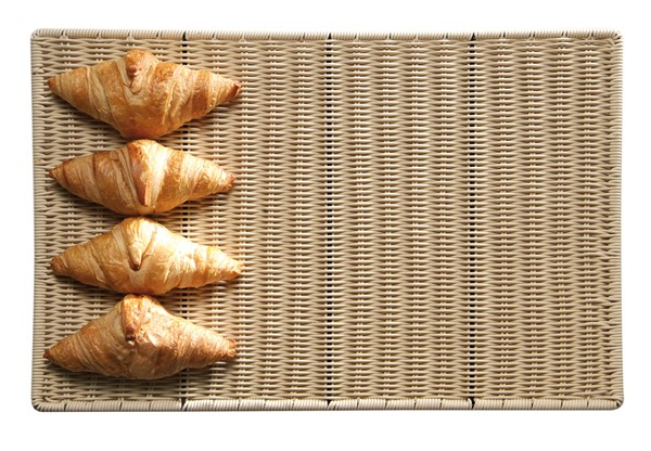 Auslage-Tablett flach, Bäcker-Mass 40 x 30