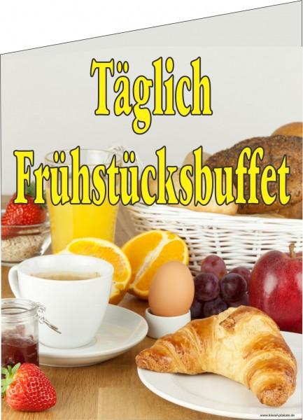 Fahne Frühstücksbuffet