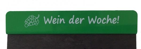 """Aktionsreiter für Preisschilder \""""Wein der Woche\"""" - 10 Stück"""