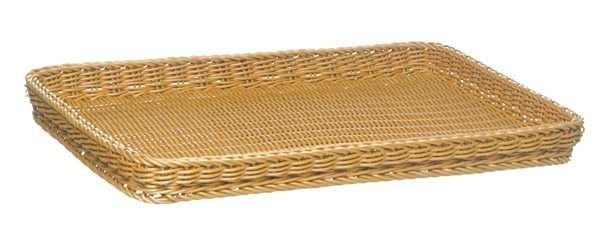 """Tablett-Korb """"Bäcker-Mass"""" 60 x 40 cm Höhe: 5cm"""