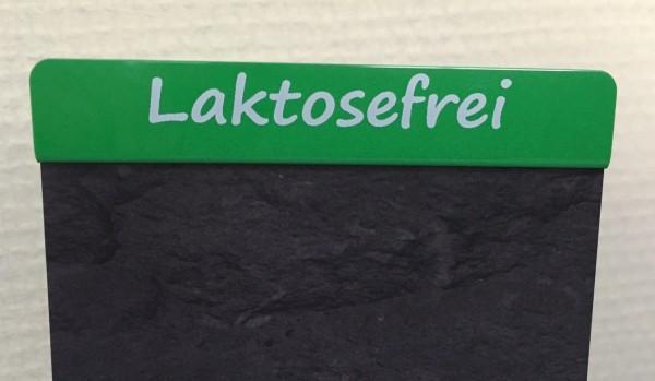 """Aktionsreiter für Preisschilder \""""Lactosefrei\"""" - 10 Stück"""