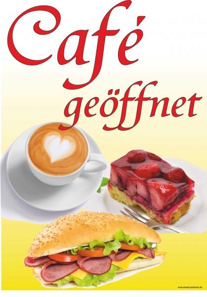 Cafe geöffnet