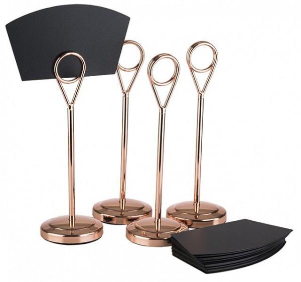 Kartenhalter, 4er Set - Copper