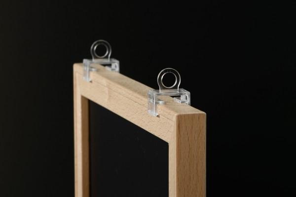 Holz-Wechselrahmen, inkl Haken