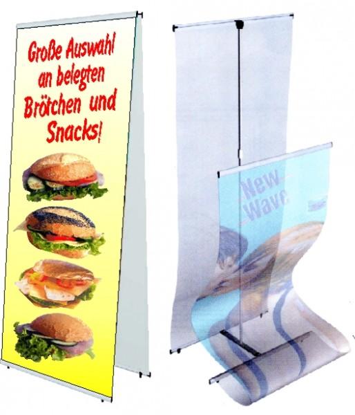 Banner-Halter Duo