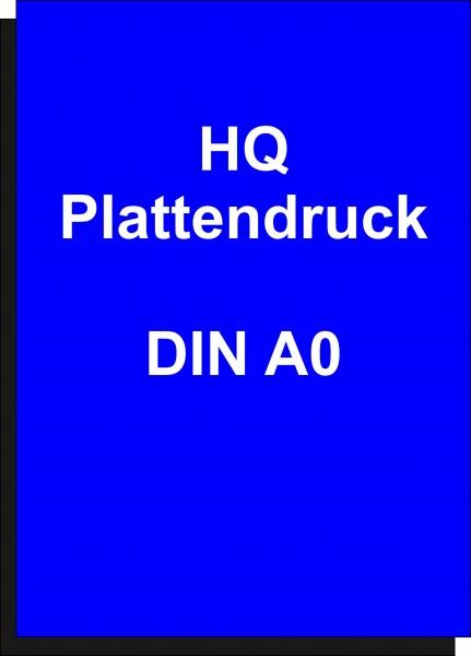 Plattendruckservice 4/0-farbiger Druck, UV-stabil auf Alu Dibond 3 mm HQ Größe DIN A0