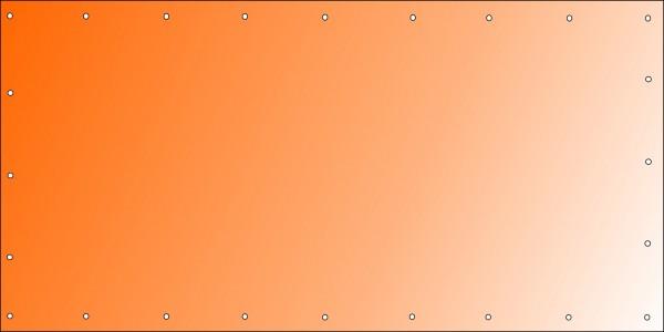 Bannerdruck 400 x 200 cm, PVC 510g