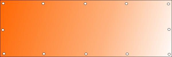 Bannerdruck 300 x 100 cm, PVC 510g