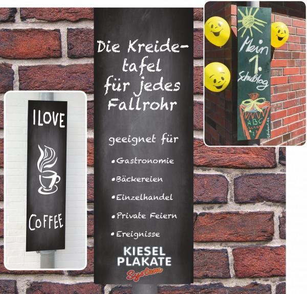 FallrohrArt - Kreidetafel-Set - grün