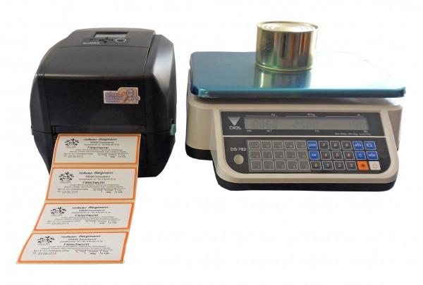 Etikettendrucksystem ST730i mit Waage