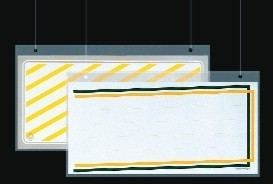 Plakathülle aus Acryl, 60x30 cm