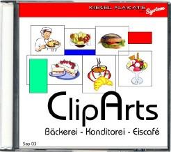 ClipArts - Bäckerei-Konditorei-Eiscafé
