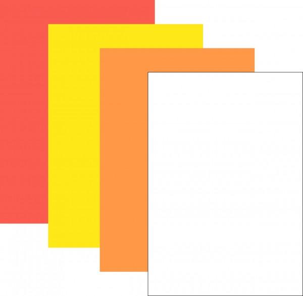 Plakatpapier, neutral ( 50 Stück )