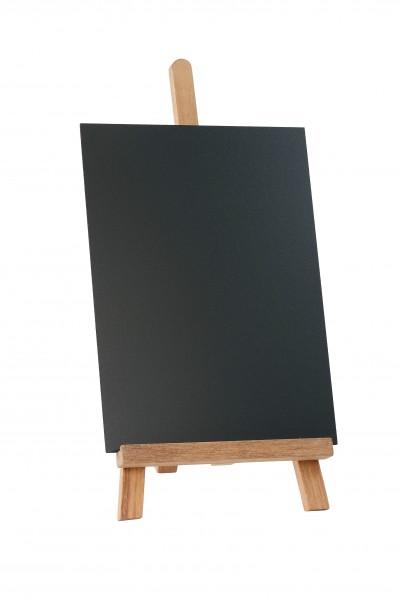 Tischstaffelei 19 x 19 x 28 cm mit DIN A4-Tafel