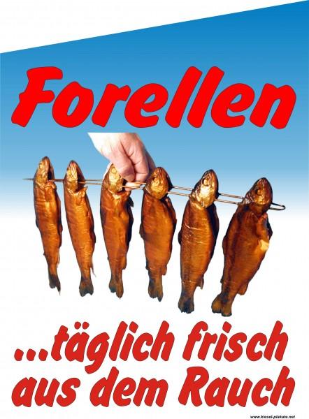 Fahne Forellen
