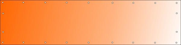 Bannerdruck 400 x 100 cm, PVC 510g