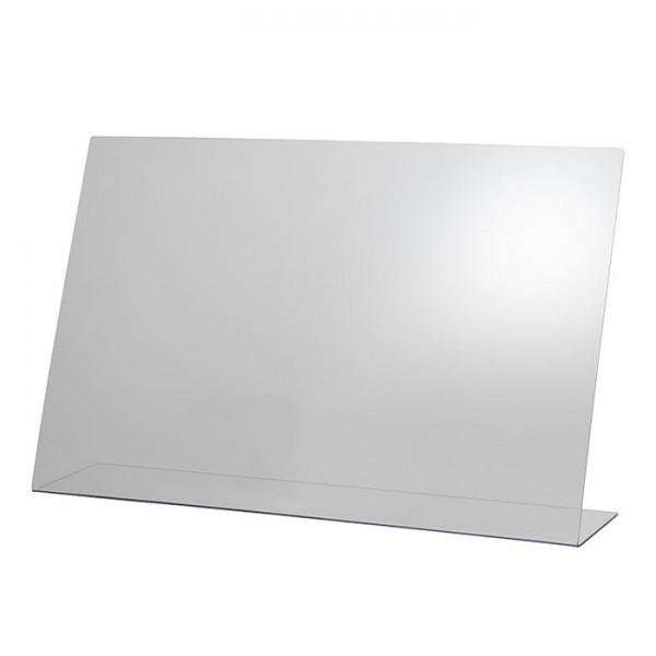 Hygieneschutzwand 75 x 48 cm - ohne Öffnung