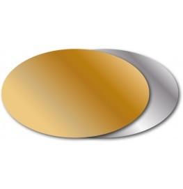 Etiketten Oval 50x30mm