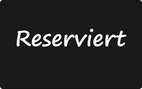 Reserviert - Schildchen / 10 Stück