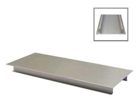 Tortenplatten aus Edelstahl, Rechteckig