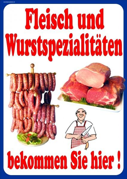 Fleisch- und Wurstspezialitäten