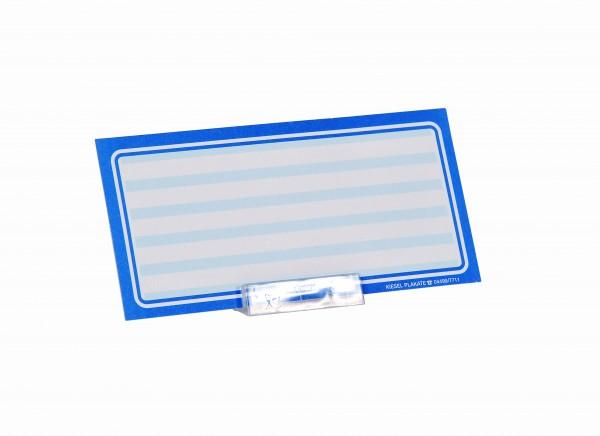 Liegehalter transparent ( 10 Stück )