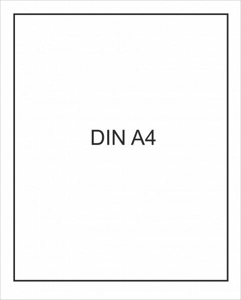 Etiketten, selbstklebend DIN A4