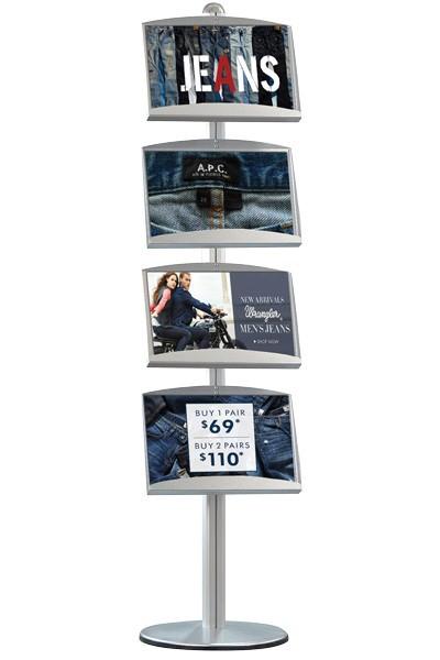 Info-Ständer / Multi-Prospektständer A4