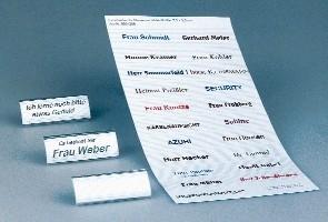 Einschieber für Namensschilder