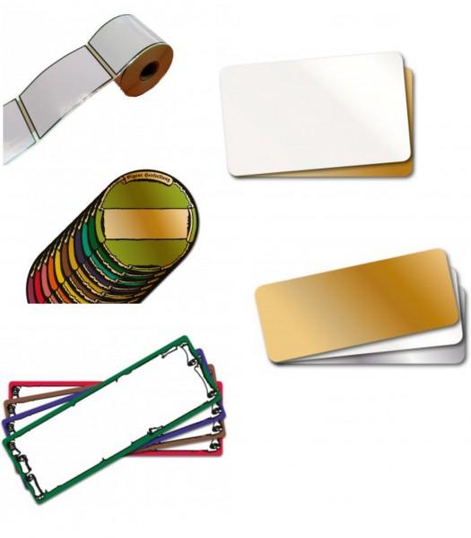 Etiketten für Etikettendrucker - verschieden Formate -
