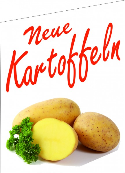 Fahne Neue Kartoffeln