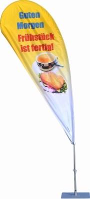 Crossflag Frühstück