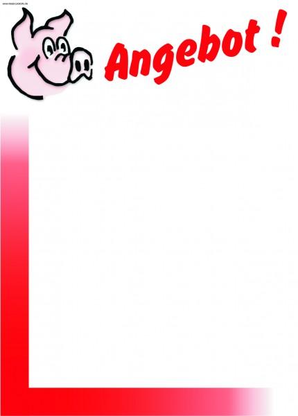 Angebot - Schwein