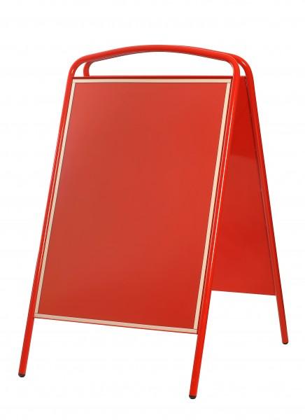 Plakatständer Star 700, DIN A1, rot mit kleinen Mängel