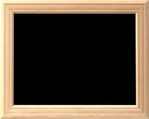 Holzrahmen-Tafel ECO-Wood