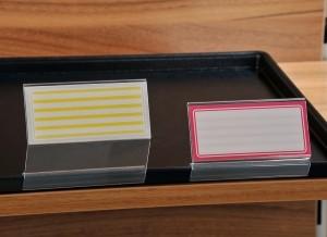 Snack-Tabletthalter, kurz ( 5 Stück )