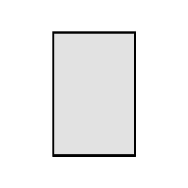 Ersatz-Plakattasche A1 für Alu-Logo-Line A1