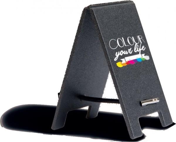 Tischaufsteller Mini-Sandwich-Board