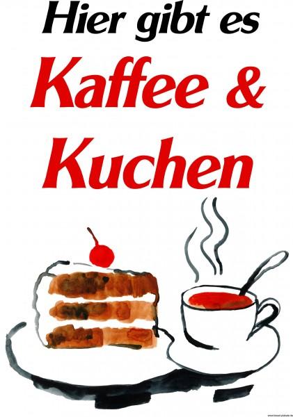 Kaffee und Kuchen Illustriert