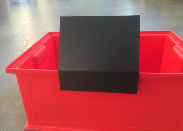 Tafel-Kistenklemme DIN A6 Querformat ( 5 Stück )